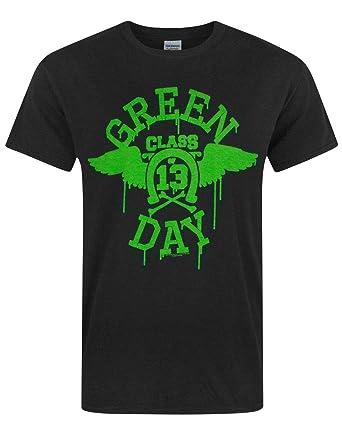 Green Day Neon Men/'s T-Shirt