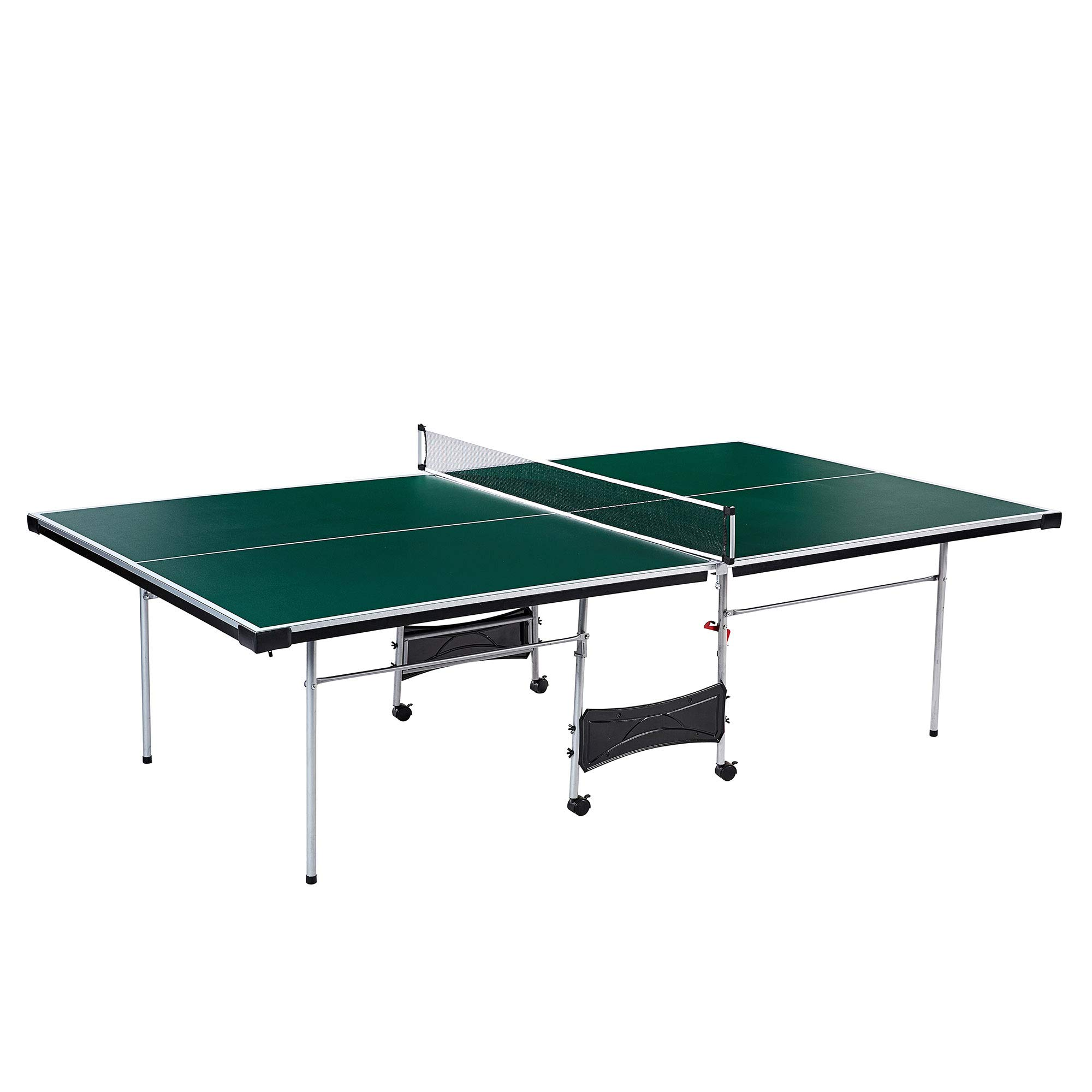 Lancaster 4 Piece Official Size Indoor Folding Table Tennis Ping Pong Game Table by Lancaster Gaming Company