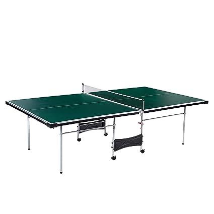 Amazon Com Lancaster 4 Piece Official Size Indoor Folding Table
