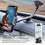 Universal Car Phone Mount Holder, Windshield Long