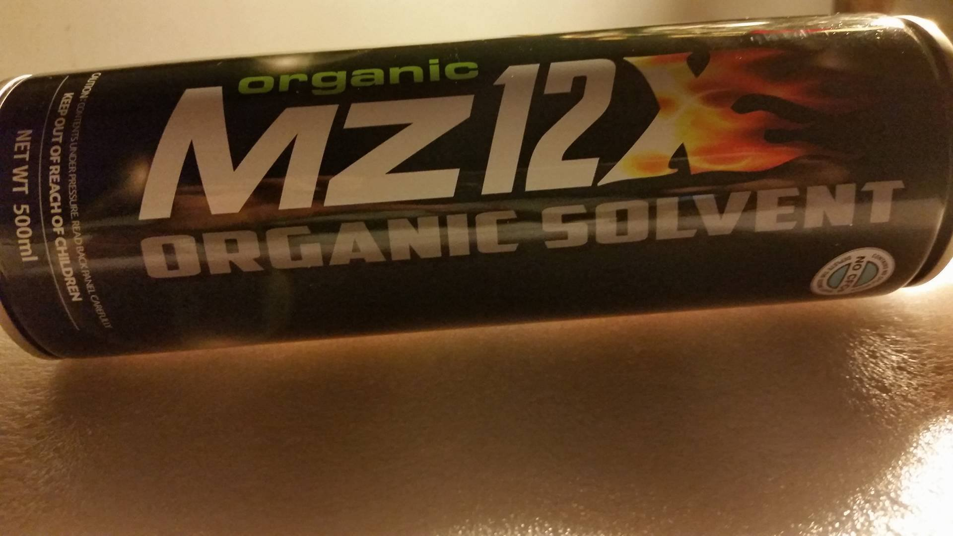 Organic Mz12X ORGANIC SOLVENT 6 Cans No CFCs