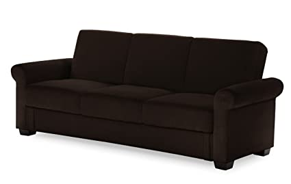 Serta Dream Convertible Eli Sofa, Java