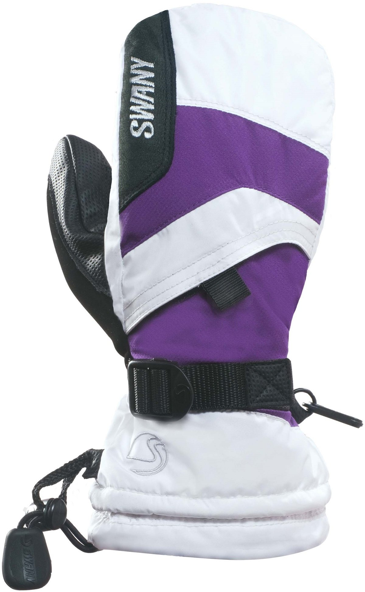 Swany X-Over Jr. Mitt Youth White/Purple XL by SWANY