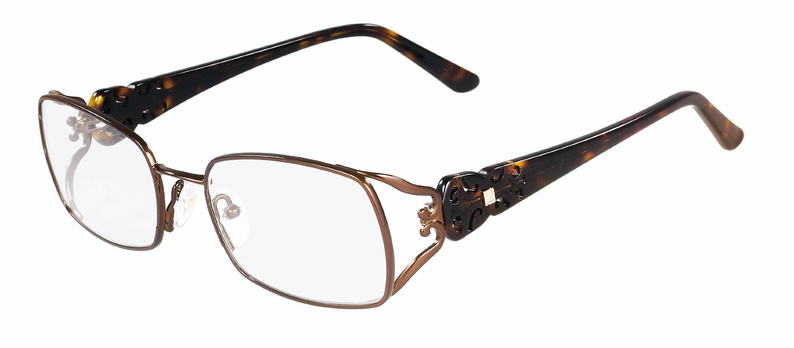 Fendi 872 Eyeglasses (212) Brown, 52mm