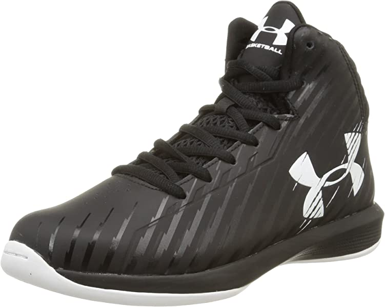 best service e692f d67b0 Amazon.com   Under Armour Kids Grade School UA Jet Basketball Shoes ...