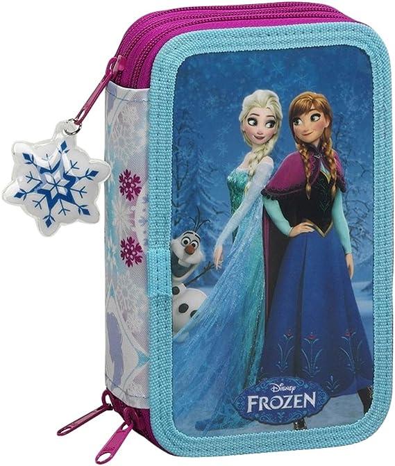 Frozen - Plumier Triple 41 Piezas (SAFTA 411615057): Amazon.es: Equipaje