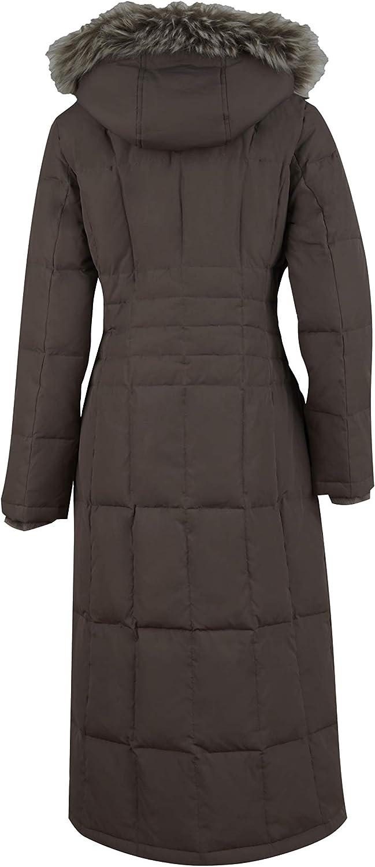 Free Country Womens Plus Size Full Length Splendor Down Jacket