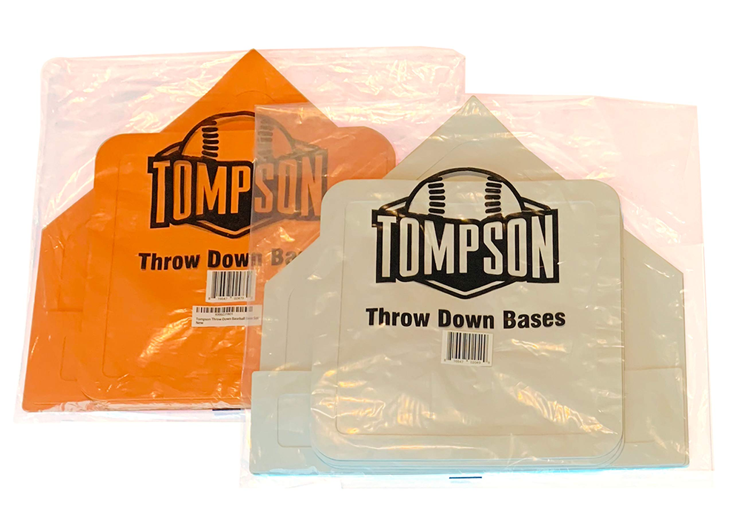 Coast Athletic Throw Down Baseball Bases | Available in White and Orange by Coast Athletic