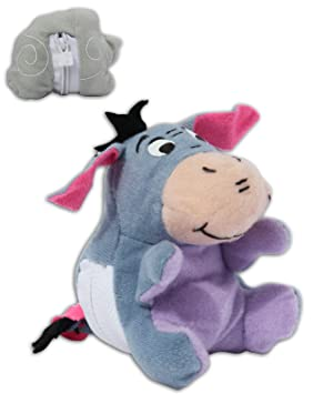 Eeyore 10cm Muñeco Peluche Reversible Burro Igor Winnie Pooh Puh Disney Film Colección