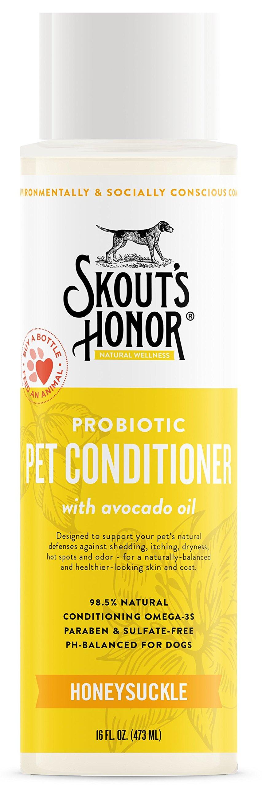 SKOUT'S HONOR Probiotic Pet Conditioner - 16 fl. oz.