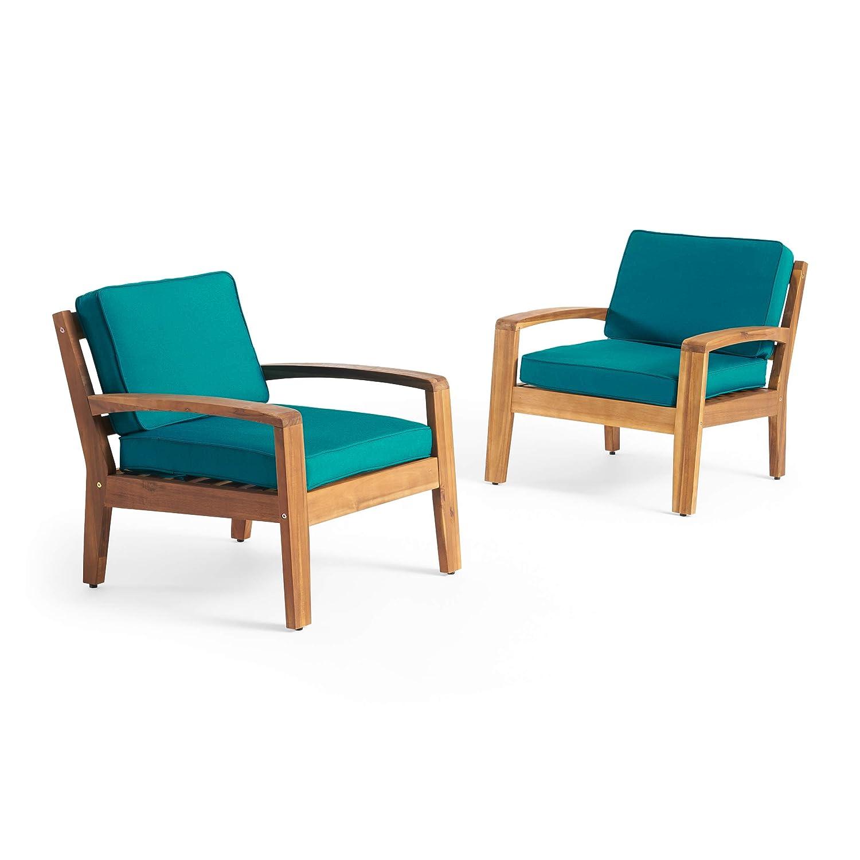 Amazon.com: Great Deal Furniture Sally Patio Club Sillas ...