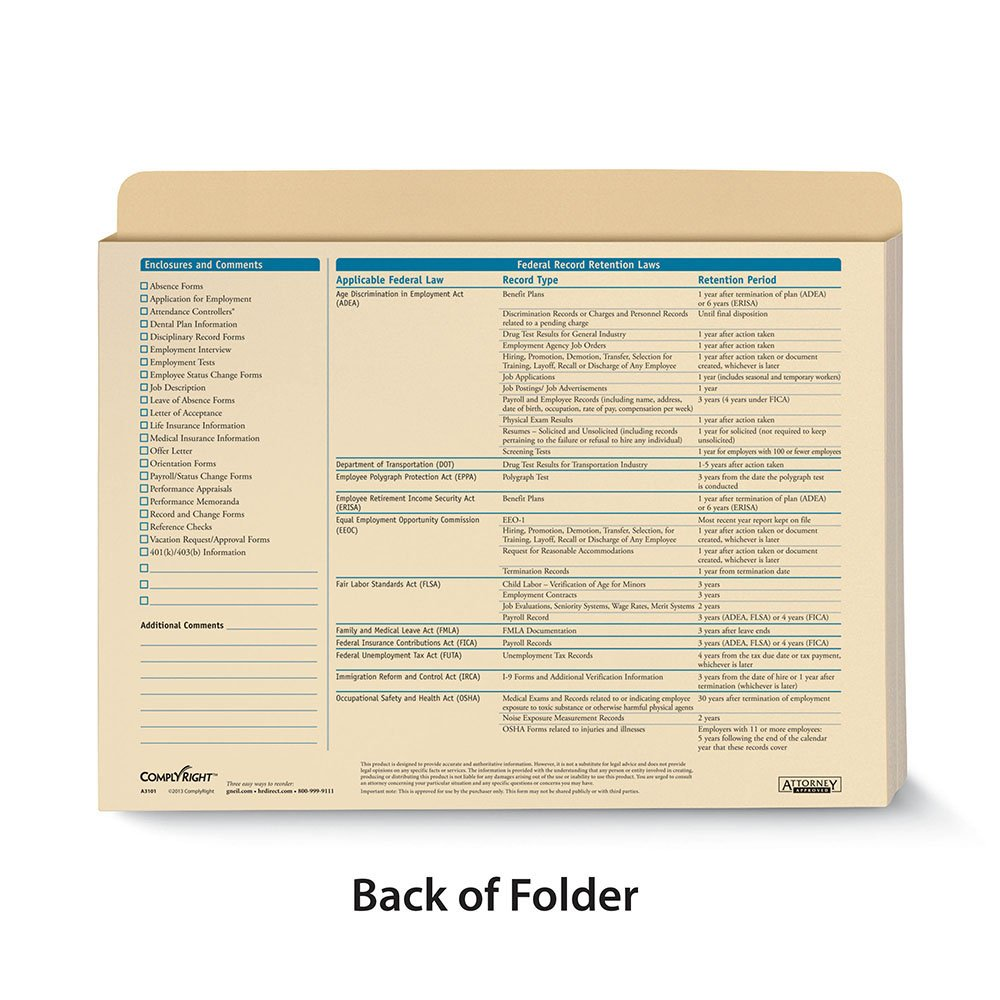 ComplyRight Employee Record Organizer Expandable by ComplyRight (Image #2)
