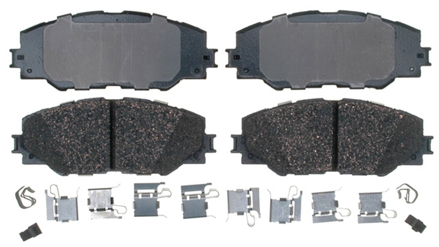 ACDelco 17D1211CH Professional Ceramic Front Disc Brake Pad Set
