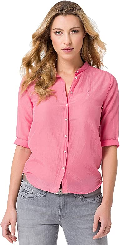 Gaastra Mujer Blusa Wind Proof salmón rosa extra-large: Amazon.es: Ropa y accesorios
