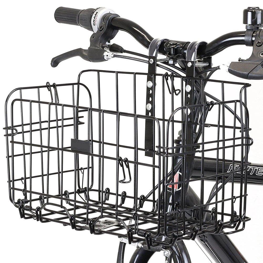 Airby cesta de la bicicleta para el manillar y el asiento trasero Adecuado para bicicletas plegables y bicicletas de montaña