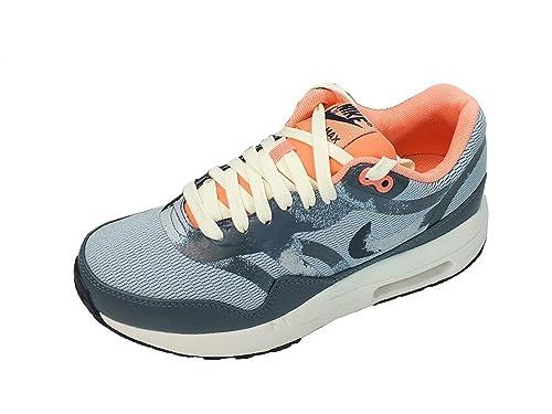 Nike Women's Wmns Air Max 1 CMFT PRM TAPE, LT ARMORY BLUE