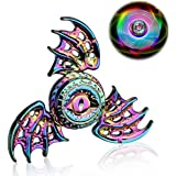 Phoenix Cool Fidget Hand Spinners Dragon Wing Finger Spinner Metal Focus Stainless Steel Fingertip Gyro Stress Relief…