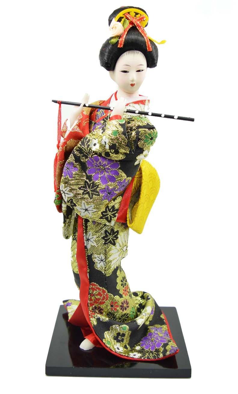 Japanese Doll - Geisha - 30cm/11.8'' tall - Asian Doll - GD011