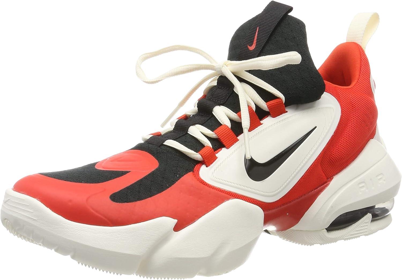 Nike Air MAX Alpha Savage, Zapatillas de Gimnasia para Hombre, Rojo (Habanero/Black/Pale Ivory 301), 38.5 EU: Amazon.es: Zapatos y complementos