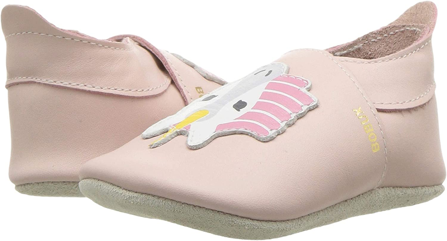 Bobux Unicorn Blossom Leather Baby Soft Soles