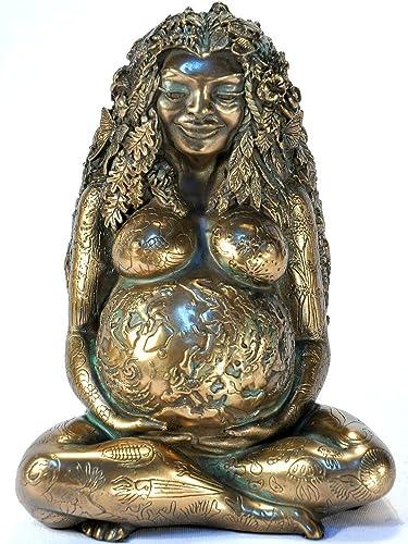 Millennial Gaia Statue – Bronze Finish by Oberon Zell