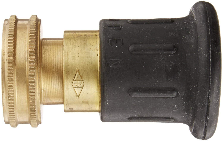 Dixon Valve HPFN150NST Brass Fire Equipment, Higher Pressure Industrial Fog Nozzle, 1-1/2'' NST (NH) Thread by Dixon Valve & Coupling (Image #1)