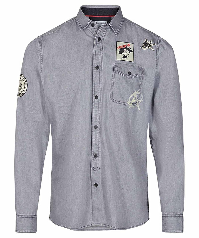 b68c214015b9a Solid Camisa Hombre Nathaniel !