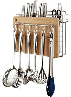 Amazon.com: Oxo SteeL Kitchen Tool and Utensil Rack: Home & Kitchen