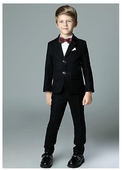 Amazon.com: Yanlu Boys Formal Suits Silm Fit Dresswear Boy Suit with ...