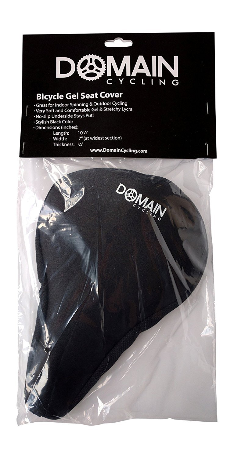Great for Spinning Classes Spin Bike Gel Seat Cover