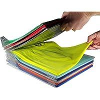 Çekmece Dolap Organizer ve Shirt dosya sistemi Organisatoren, Regular size 20-Pack
