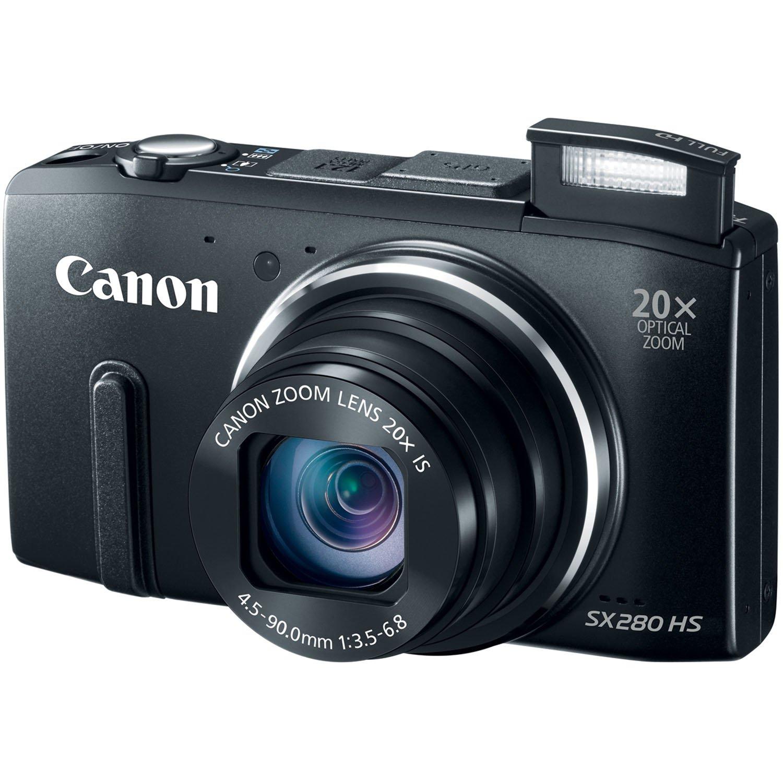 Amazon.com : Canon PowerShot SX280 12.1MP Digital Camera with 20x ...