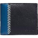 Coach Men's Baseball Stitch Leather Wallet