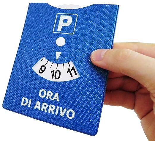 3 opinioni per DISCO ORARIO MADE IN ITALY PARCHEGGIO ORA DI ARRIVO IN GOMMA CON RIFINITURE