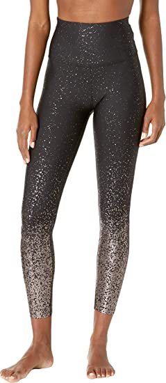 9883991615 Amazon.com: Beyond Yoga Alloy Ombre Sport Flex High Waist Midi Legging,  Black: Clothing
