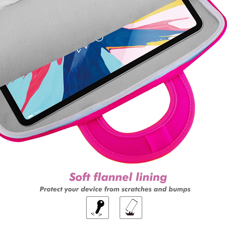 Neoprene Zipper Handle Sleeve Case Bag Fits iPad Air 3 10.5 2019 MoKo 10 Inch Kids Tablet Sleeve with Accessory Pocket iPad Pro 10.5 iPad 9.7 2018 Starry Night iPad Pro 11 2018