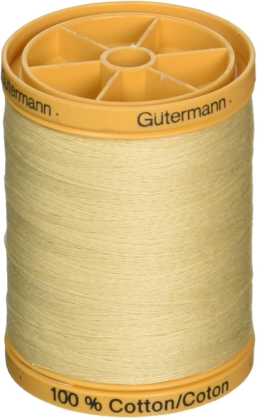 S-lidos Thread Gutermann 800C-2724 Algod-n Natural 876 Yardas-Mauve