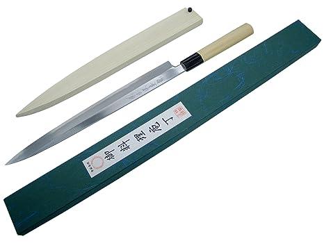 Amazon.com: SANE-TATSU: Yanagi-ba Cuchillos (Pro japonés de ...