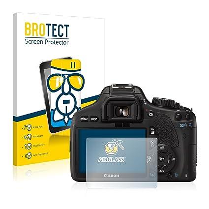 BROTECT Protector Pantalla Cristal Compatible con Canon EOS 550D ...