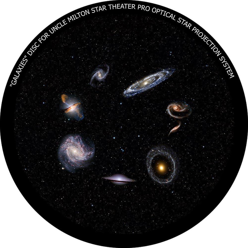 Galaxies - disc for Uncle Milton Star Theater Pro/Nashika NA-300 Planetarium