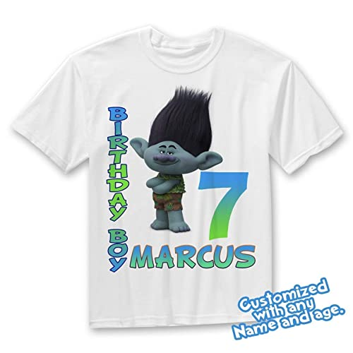 9ff0785256c Amazon.com  Branch troll shirt add name and age