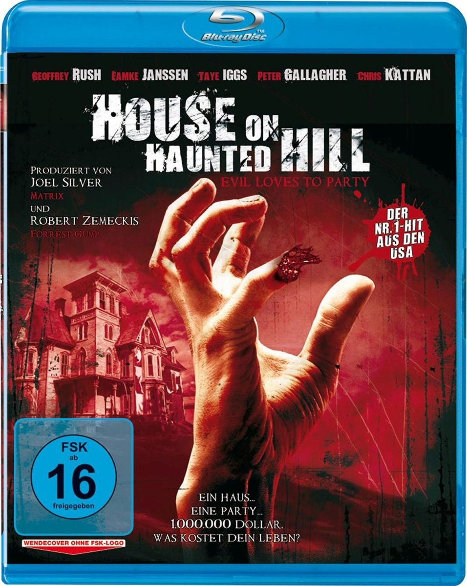 House on Haunted Hill [Blu-ray] [Alemania]