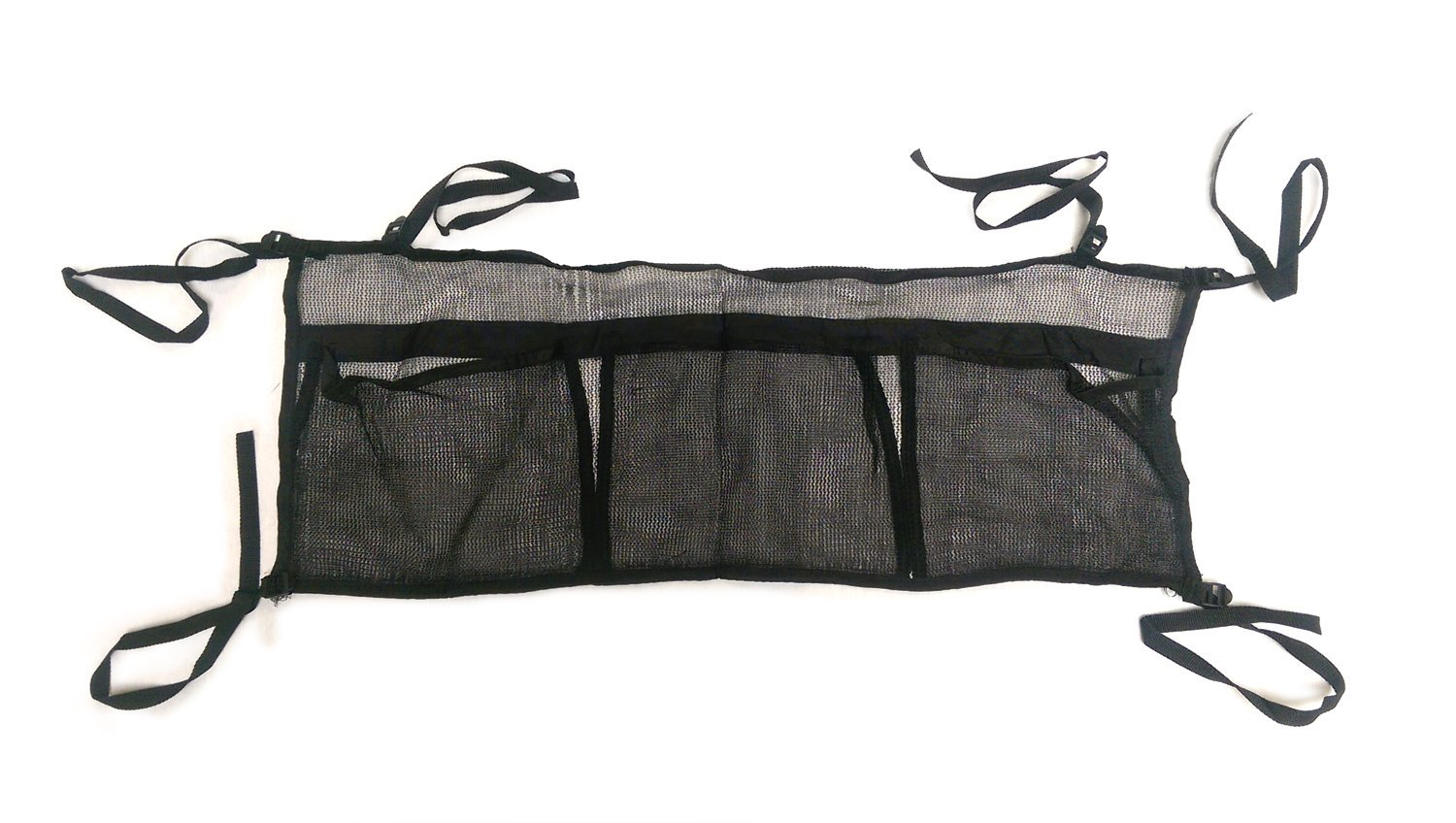 SkyBound Three Pouch Trampoline Shoe Bag, Black