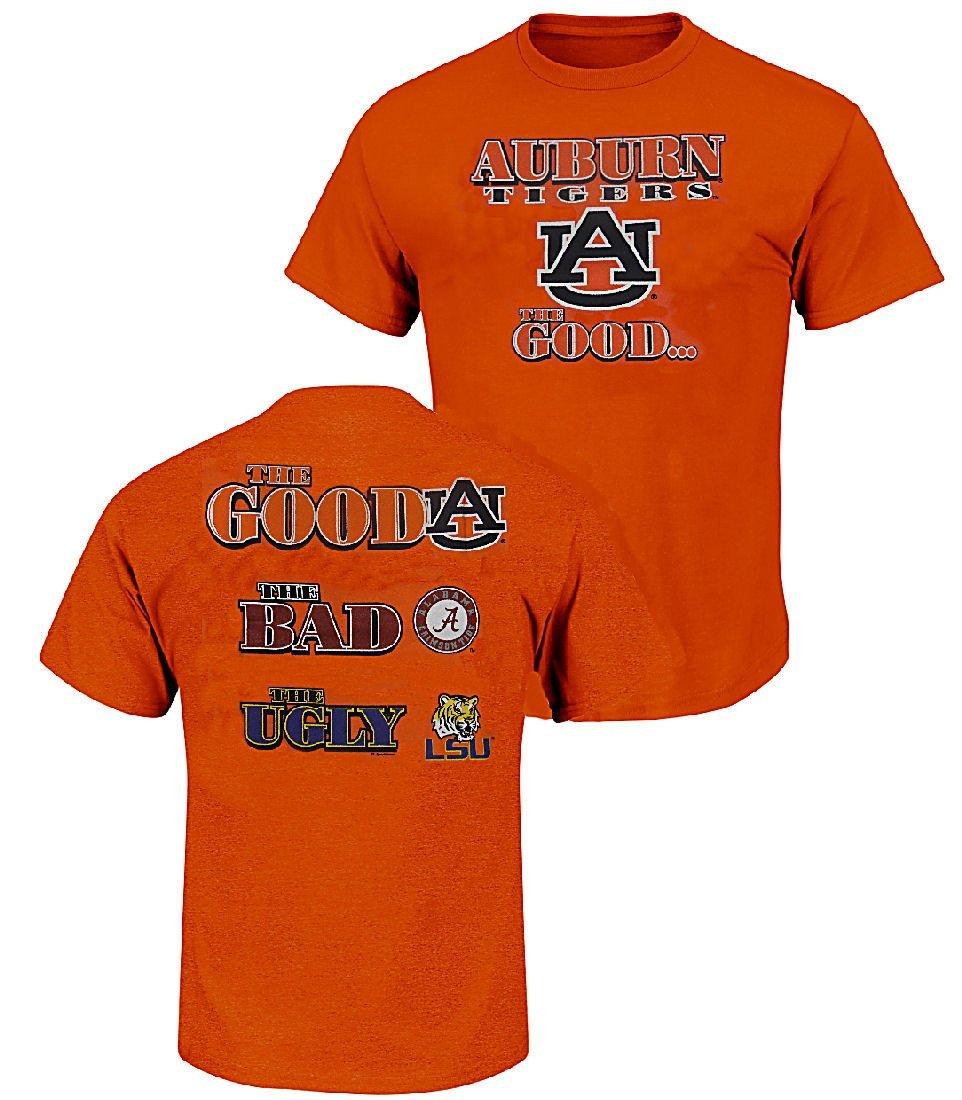 Amazon Com Auburn Tigers The Good Bad Ugly Orange Short
