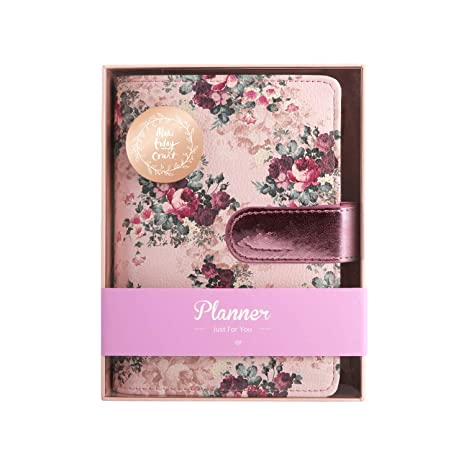 Amazon.com : Stationery Rose Series Spiral Notebook 2019 ...