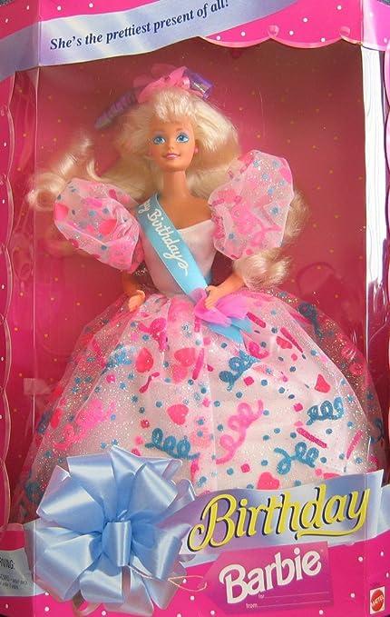 Amazon.com: Cumpleaños muñeca barbie Ella es el Prettiest ...