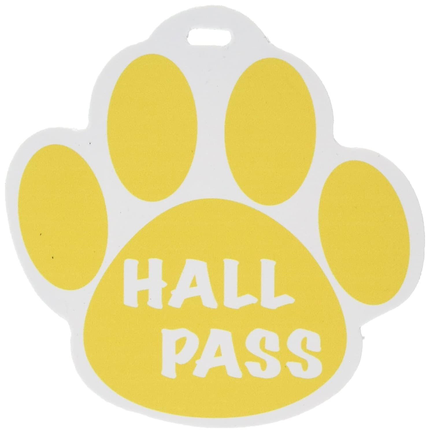 Ashley Productions ASH10354 Gold-Paw Hall Pass 4 X 4