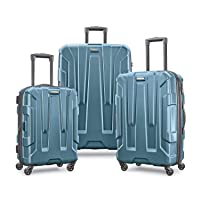 Samsonite Centric Hardside Expandable Luggage with Spinner Wheels, Teal, 3-Piece...
