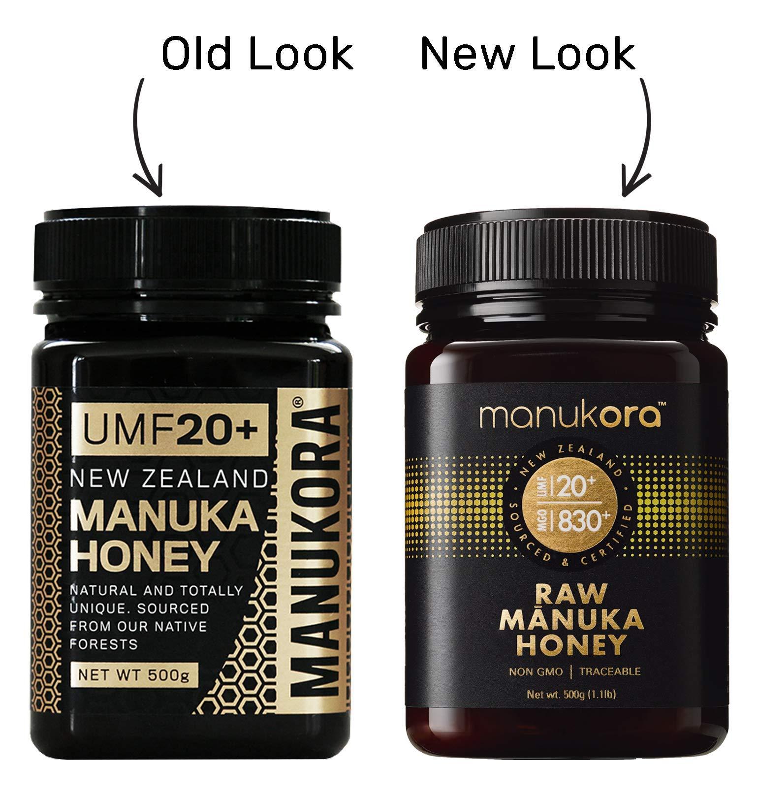 Manukora UMF 20+/MGO 830+ Raw Mānuka Honey (500g/1.1lb) Authentic Non-GMO New Zealand Honey, UMF & MGO Certified, Traceable from Hive to Hand by Manukora (Image #7)