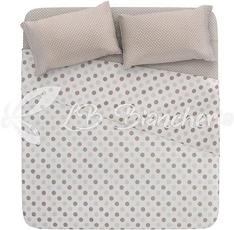 Completo sábanas Lunares – Made in Italy – 100% algodón de trama ...